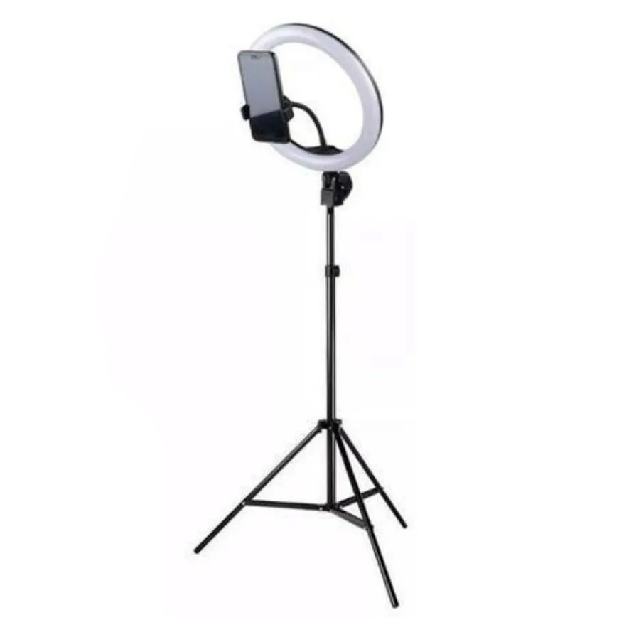 Ring Light Led 27Cm c/ Tripé Ring Light até 2,10 Metros YYBGD-260