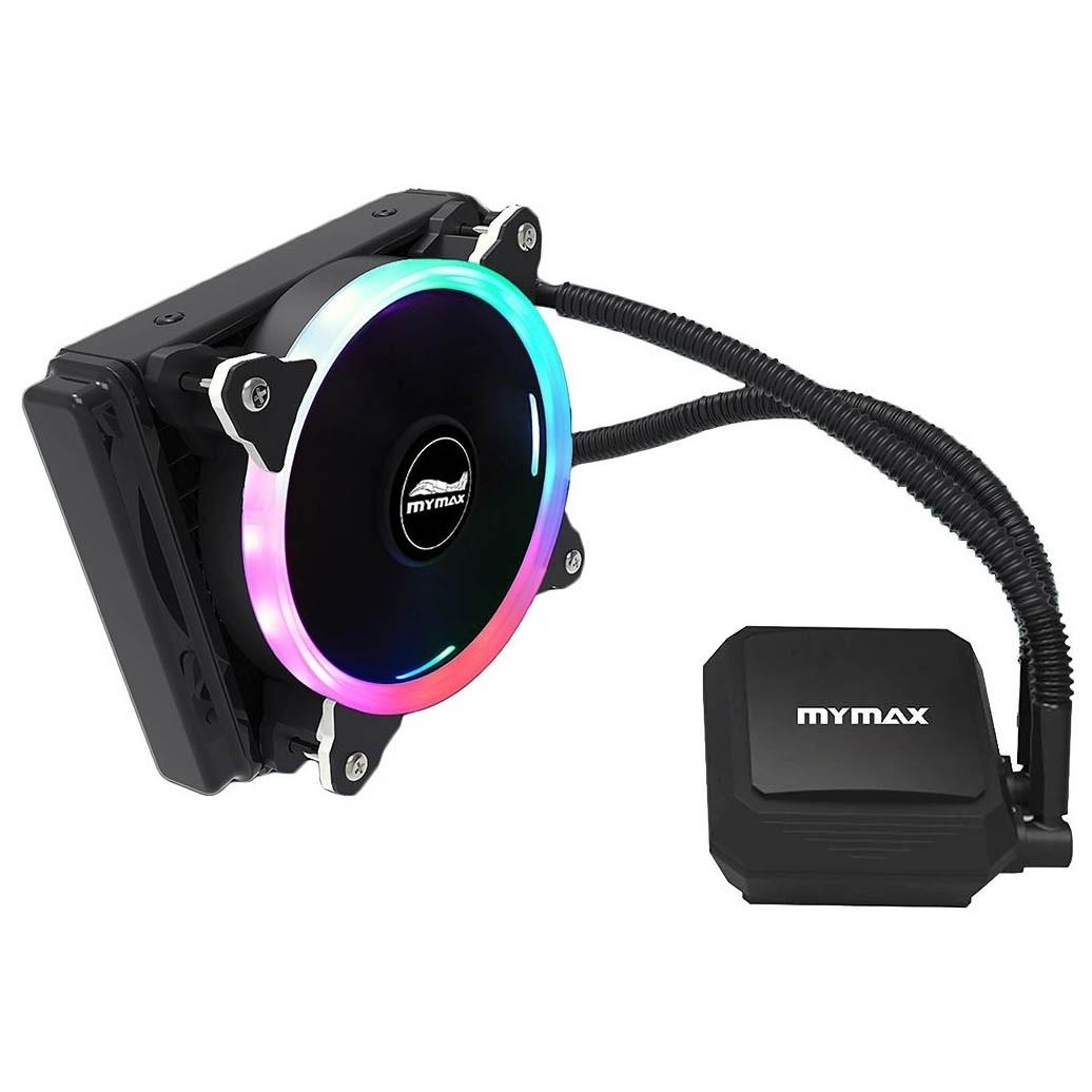 Watercooler Algor 120mm para AMD e Intel RGB Mymax - MYC/FC-V2-120MM/RGB