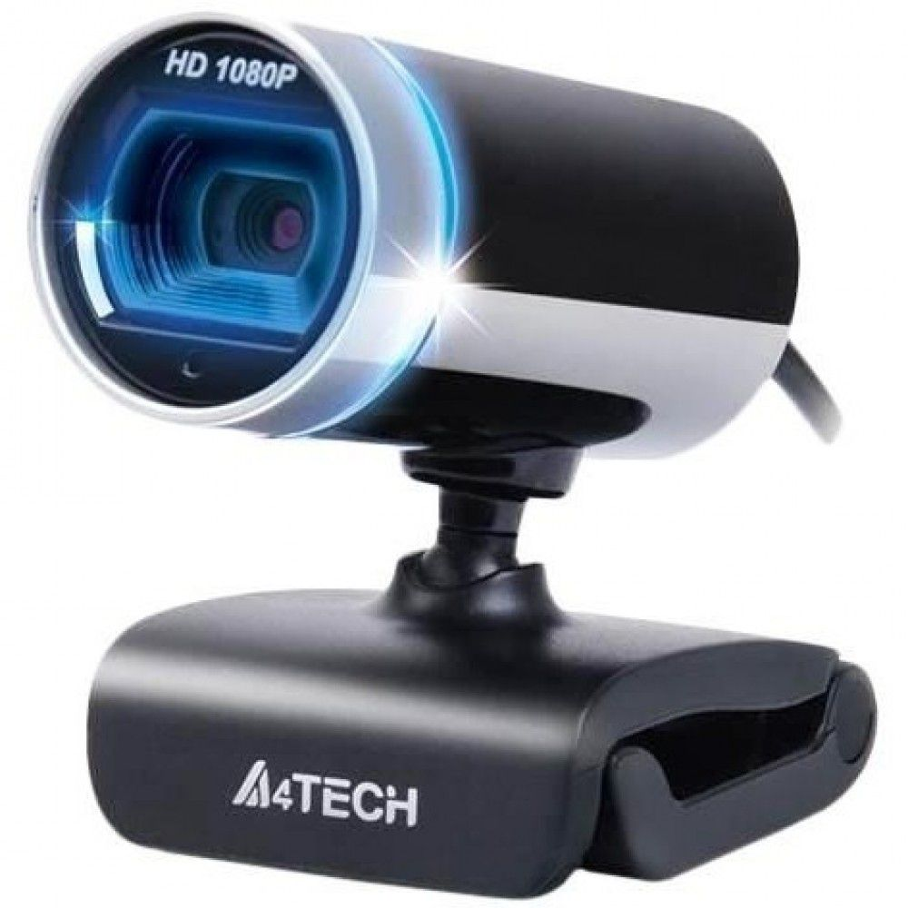 Webcam A4Tech PK-910H Full HD 16MP USB 2.0 Preto/Prata