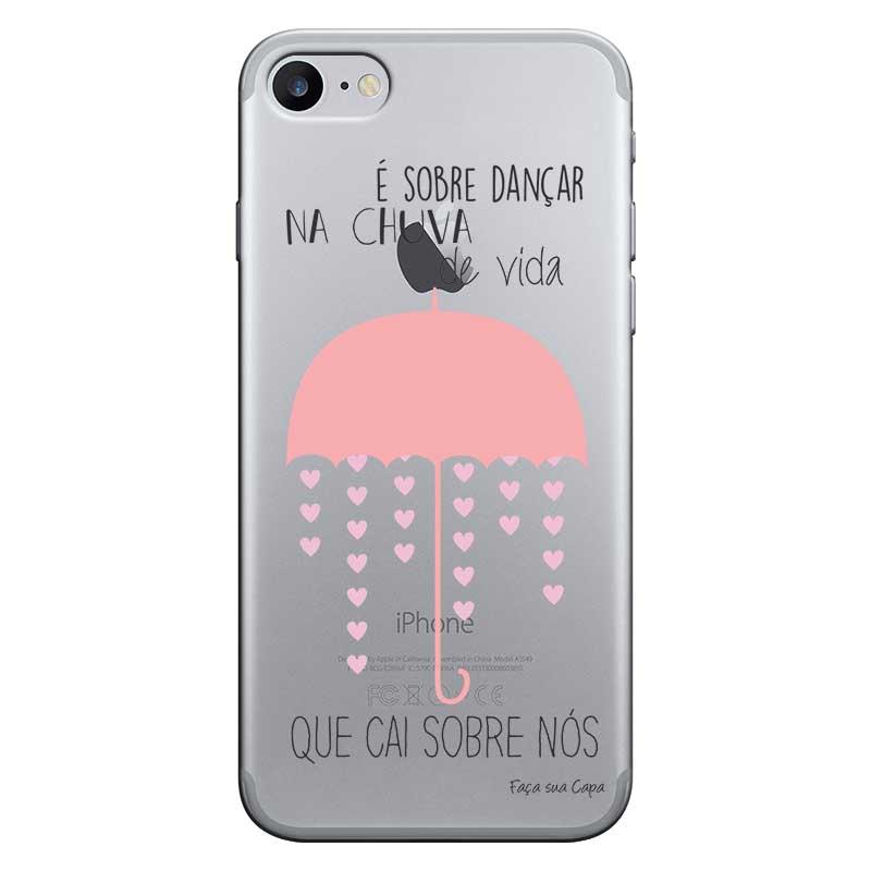 Capa Personalizada para Apple Iphone 7 Sons do Brasil - MB03