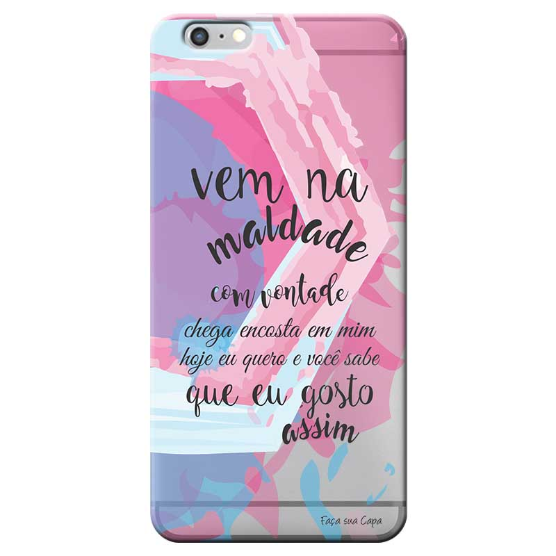 Capa Personalizada para Apple Iphone 6 6S Sons do Brasil - MB05