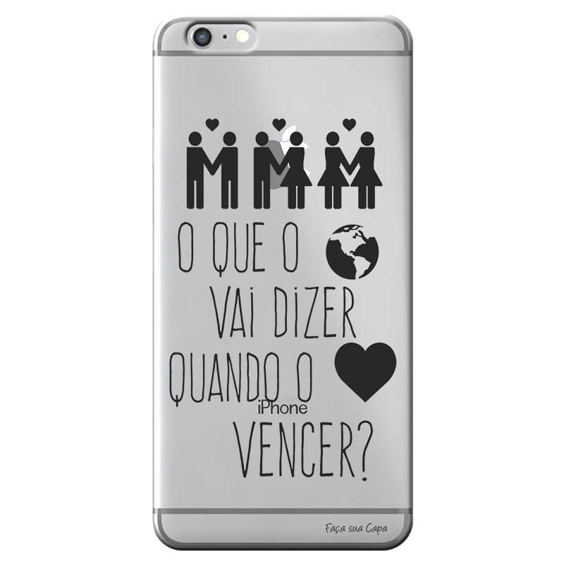 Capa Personalizada para Apple Iphone 6 6S Sons do Brasil - MB16