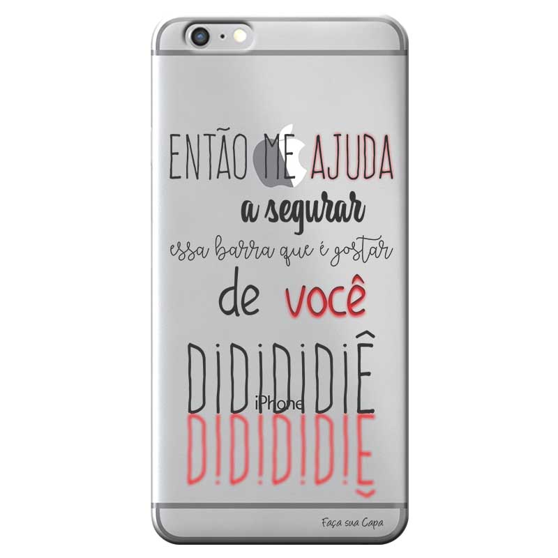 Capa Personalizada para Apple Iphone 6 6S Sons do Brasil - MB31