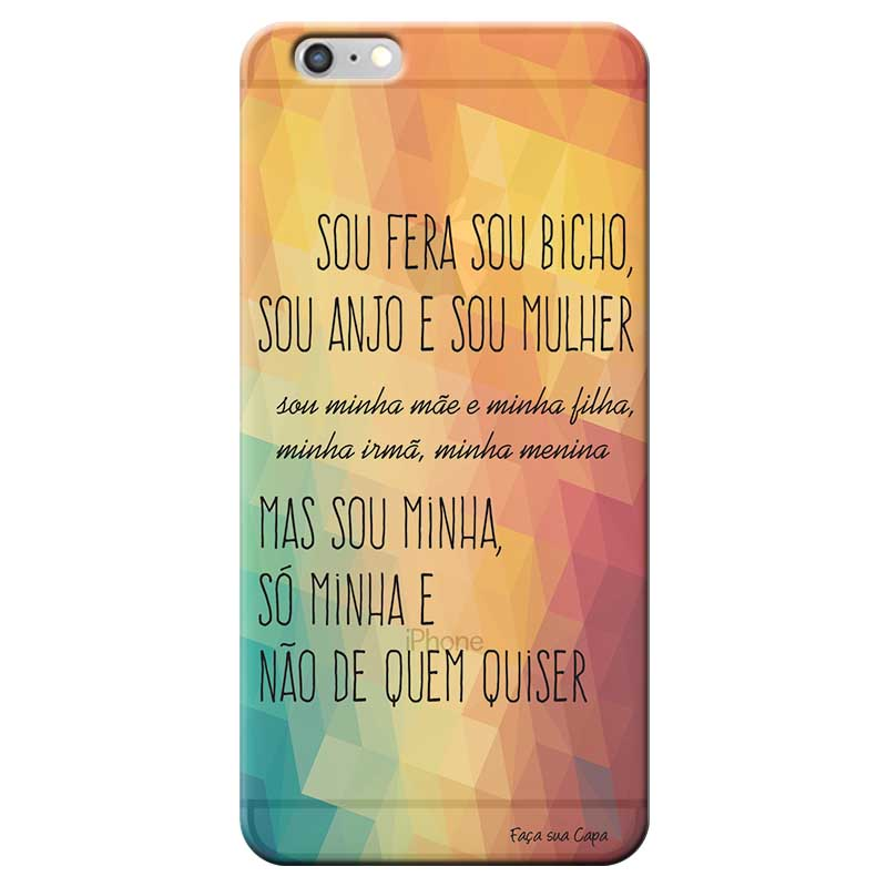 Capa Personalizada para Apple Iphone 6 Plus 6s Plus Sons do Brasil - MB06