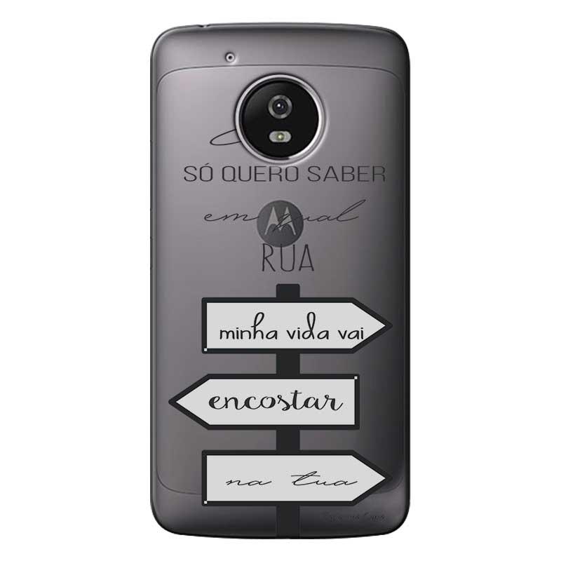 Capa Personalizada para Motorola Moto G5 Sons do Brasil - MB02