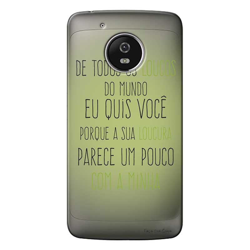 Capa Personalizada para Motorola Moto G5 Sons do Brasil - MB12