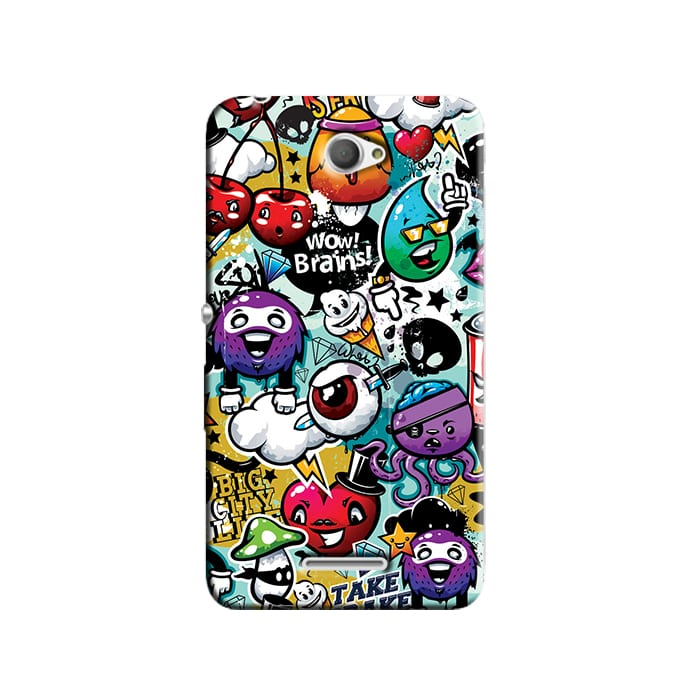 Capa Personalizada para Sony Xperia E4 E2104 E2105 - AT22