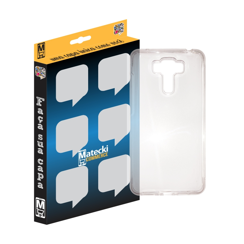 Capa TPU Transparente Asus Zenfone 3 Laser 5.5 ZC551KL