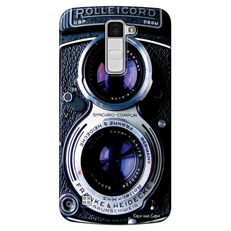 Capa Personalizada para LG K10 2017 Câmera Fotográfica - TX56