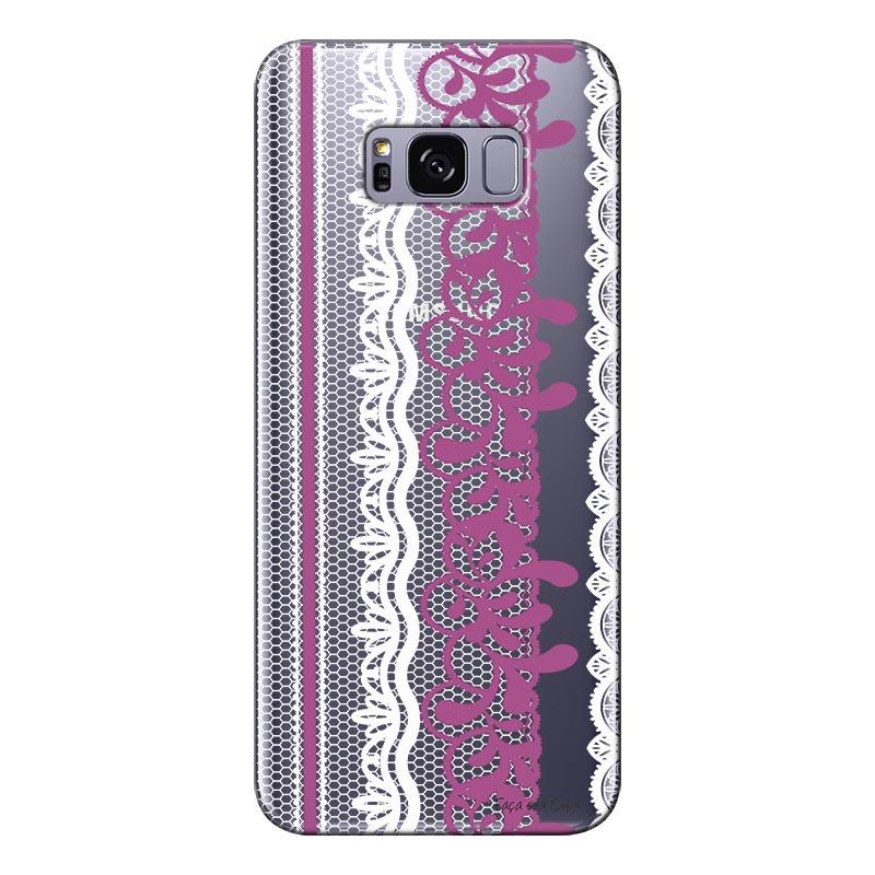 Capa Personalizada para Samsung Galaxy S8 G955 Renda - TP287
