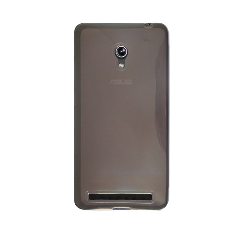 Capa TPU Grafite Asus Zenfone 6 A600CG A601 + Película Flexível