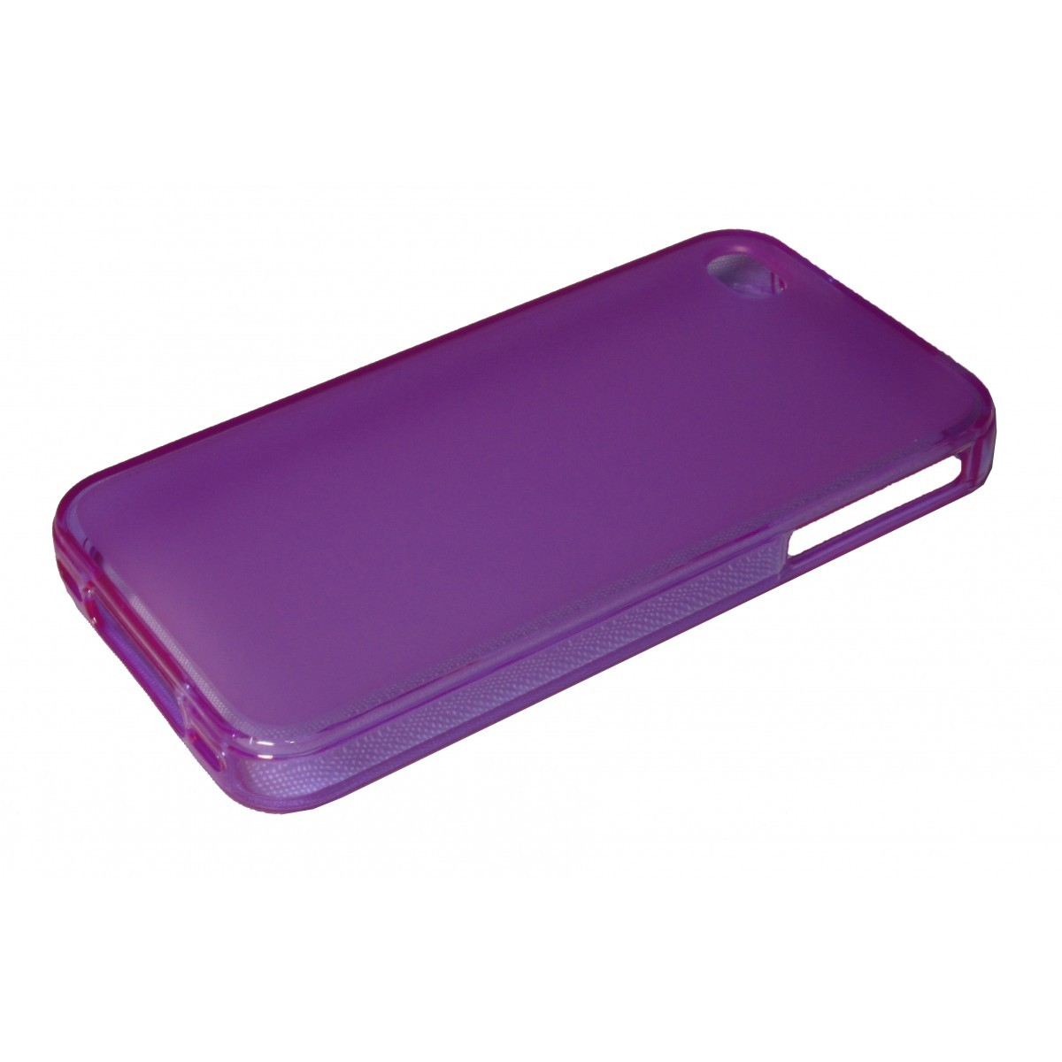 Capa de Tpu para Iphone 4 4S  Pelicula Lilas - Matecki