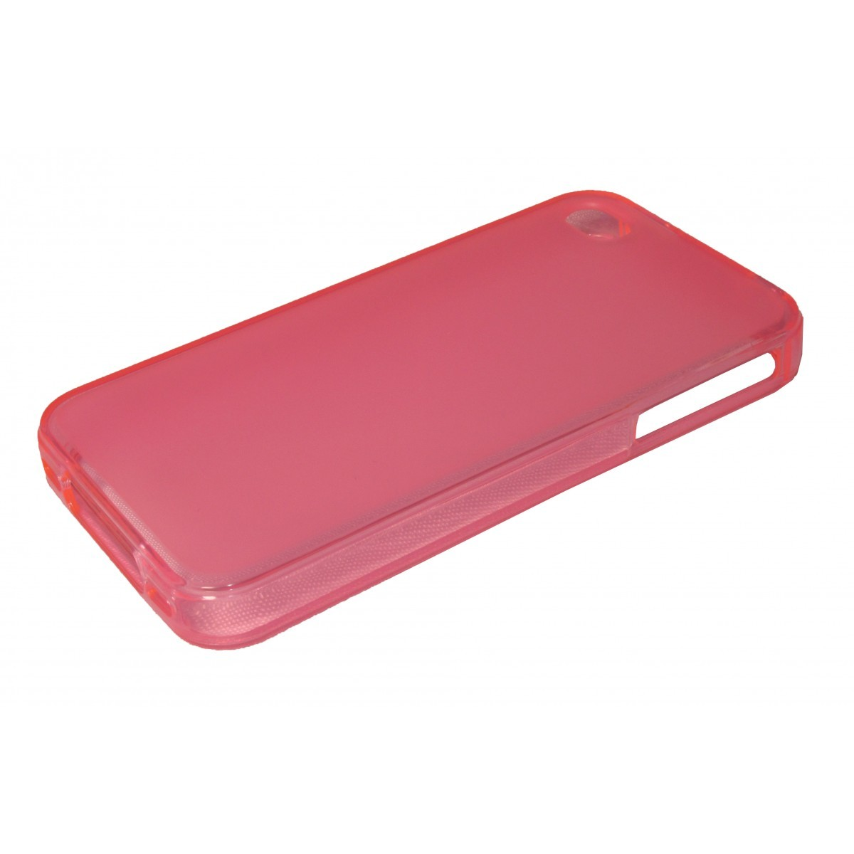 Capa de Tpu para Iphone 4 4S  Pelicula Rosa - Matecki