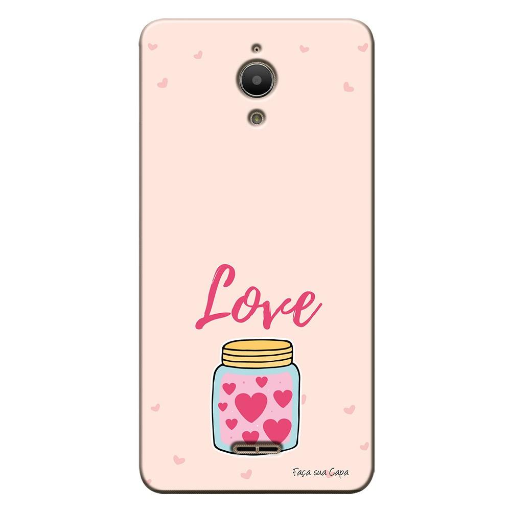 Capa Personalizada para Alcatel Pixi 4 6.0 Dia dos Namorados - NR08