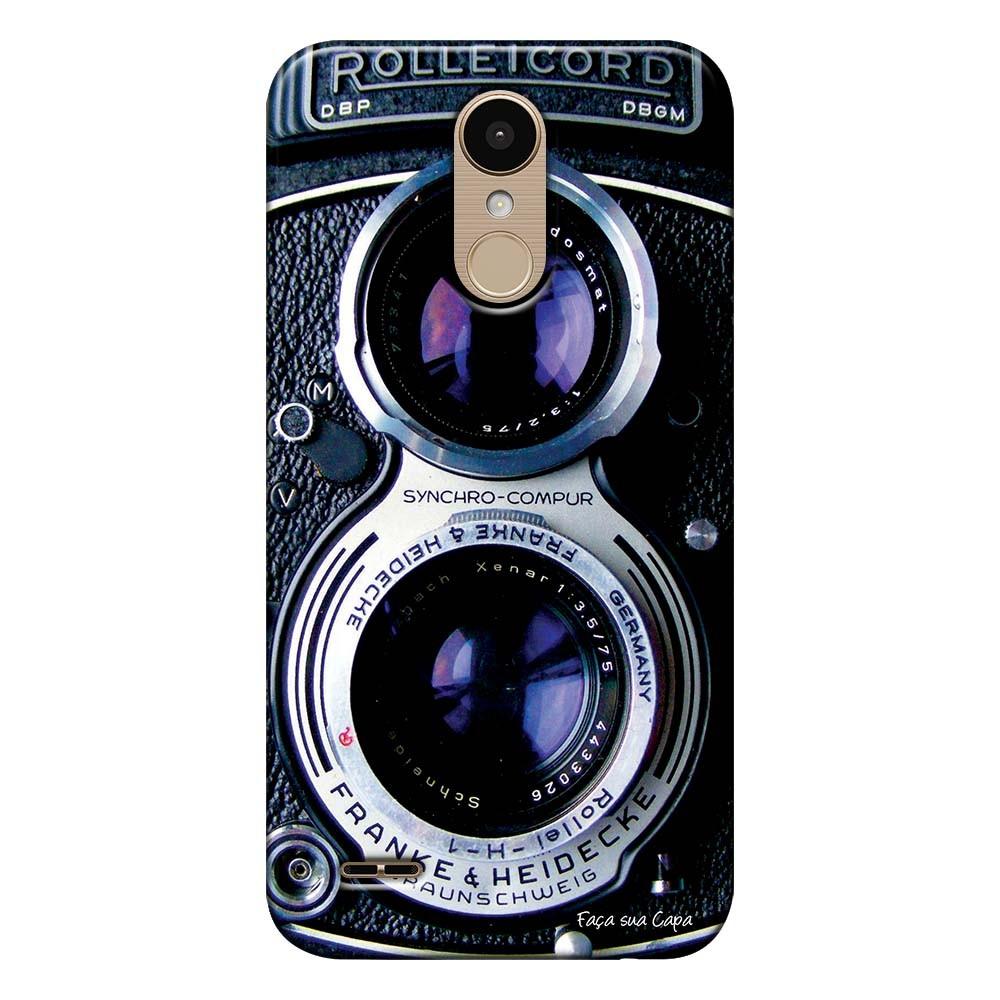 Capa Personalizada para LG K10 Pro M400 Câmera Fotográfica - TX56