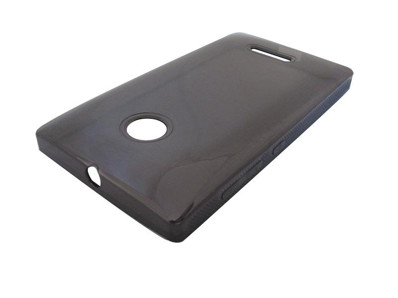 Capa TPU Grafite Microsoft Lumia 532