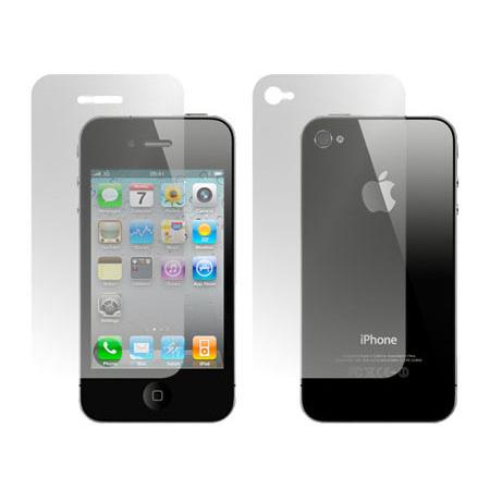 Película Protetora para Iphone 4 4S Frente e Verso - Fosca