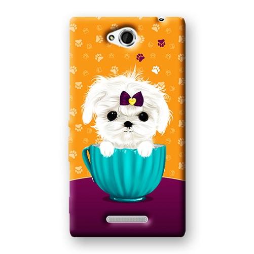 Capa Personalizada para Sony Xperia C C2304 C2305 S39H - DE03