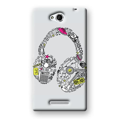 Capa Personalizada para Sony Xperia C C2304 C2305 S39H - MU01