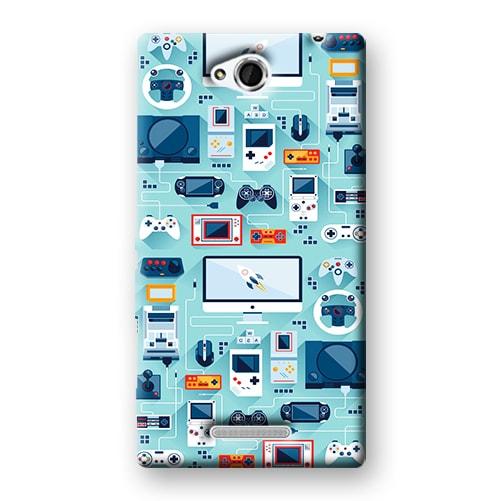 Capa Personalizada para Sony Xperia C C2304 C2305 S39H - VT13