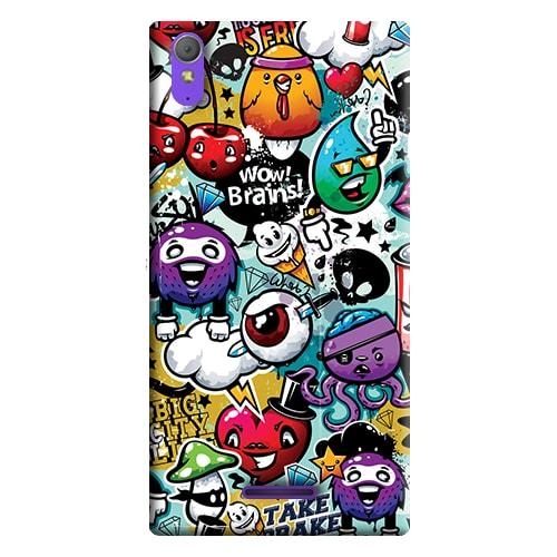 Capa Personalizada para Sony Xperia T3 D5102 D5103 D5106 - AT22