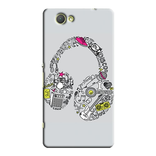 Capa Personalizada para Sony Xperia Z3 Compact Mini D5803 D5833 - MU01