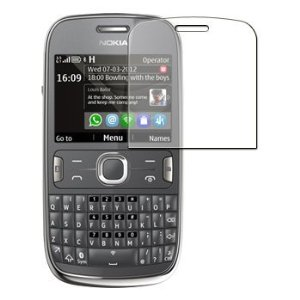 Película Protetora para Nokia Asha 302 N302 - Transparente