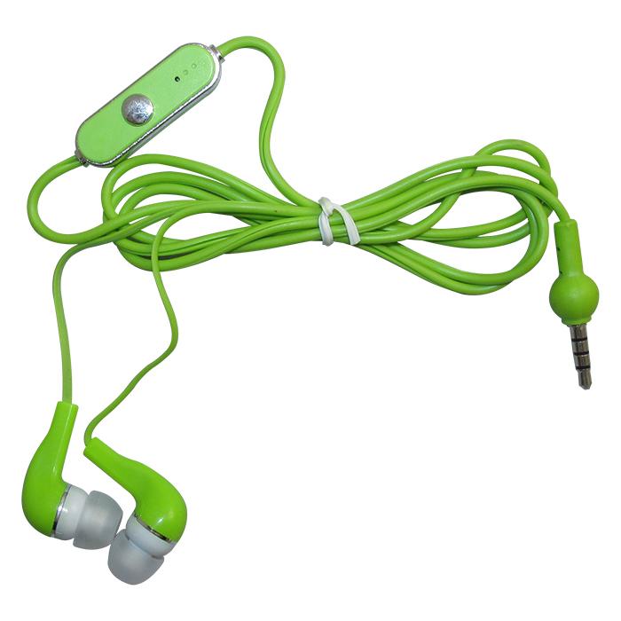 Fone de Ouvido Stereo RO com Microfone - Verde