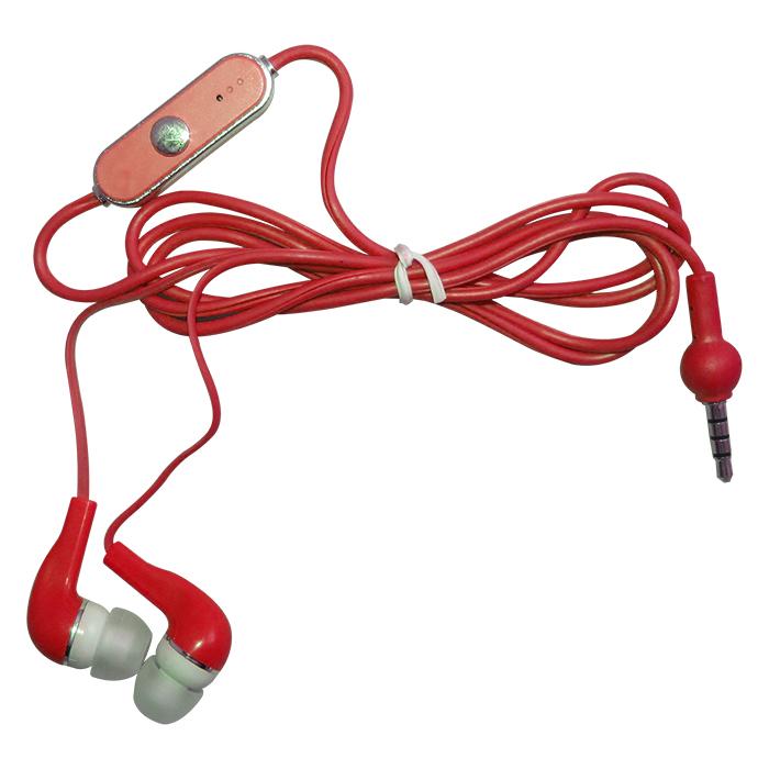 Fone de Ouvido Stereo RO com Microfone - Vermelho