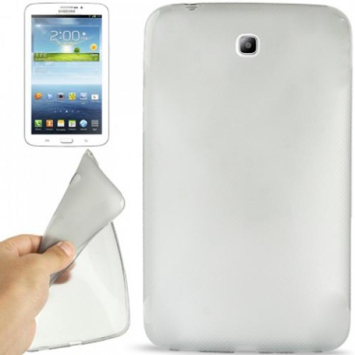 Capa TPU Transparente Samsung Galaxy Tab 3 7.0 T210 + Pelicula Flexível