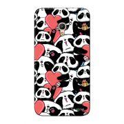 Capa Personalizada para Alcatel Pixi 4 5.0 Love Panda - LV21