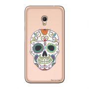 Capa Transparente Personalizada para Alcatel Pixi 4 5.0 Caveira Mexicana - TP240