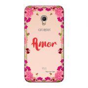 Capa Personalizada para Alcatel Pixi 4 5.0 Amor - TP267