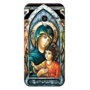 Capa Personalizada Exclusiva para Alcatel Pixi 3 4.5 Maria mãe de Jesus - RE15