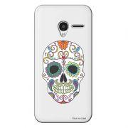 Capa Personalizada para Alcatel Pixi 3 4.5 Caveira Mexicana - TP240
