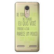 Capa Personalizada para Lenovo Vibe K6 Sons do Brasil - MB12