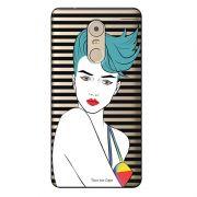 Capa Transparente Exclusiva para Lenovo Vibe k6 Plus Girl - TP265