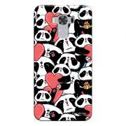 Capa Personalizada para Asus Zenfone 3 Max 5.5 ZC553KL Love Panda - LV21