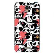 Capa Personalizada para Lenovo Vibe B Love Panda - LV21
