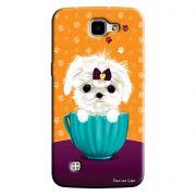 Capa Personalizada para LG K4 K130 Cachorro no Pote - DE03