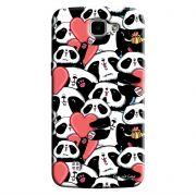 Capa Personalizada para LG K4 K130 Love Panda - LV21
