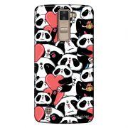 Capa Personalizada para LG K8 K350 Love Panda - LV21