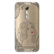 Capa Transparente Exclusiva para Asus Zenfone GO 5.5 ZB551KL Girl - TP266