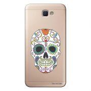 Capa Transparente Personalizada para Samsung Galaxy J5 Prime Caveira Mexicana - TP240