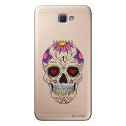 Capa Transparente Personalizada para Samsung Galaxy J5 Prime Caveira Mexicana - TP242
