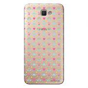 Capa Transparente Personalizada para Samsung Galaxy J5 Prime Love - TP244