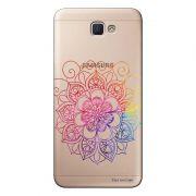 Capa Transparente Personalizada para Samsung Galaxy J5 Prime Mandala - TP251