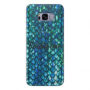 Capa Transparente Personalizada para Samsung Galaxy S8 Sereia - TP303
