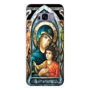 Capa Personalizada para Samsung Galaxy S8 Plus G955 Maria Mãe de Jesus - RE15
