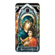 Capa Personalizada para Samsung Galaxy J2 Prime Maria mãe de Jesus - RE15